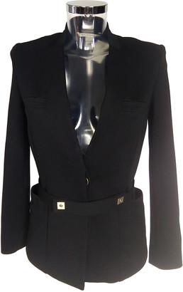 Diane von Furstenberg Black Polyester Jackets