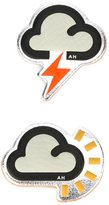 Anya Hindmarch Weather stickers - women - Leather - One Size