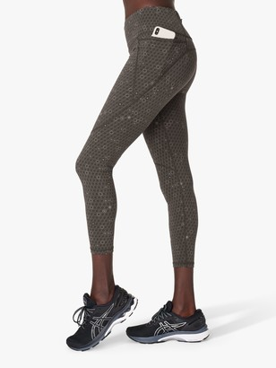 Sweaty Betty Reflective 7/8 Gym Leggings, Grey