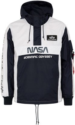 Alpha Industries NASA Odyssey panelled shell jacket
