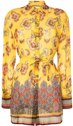 Alexis Foley floral print blouse