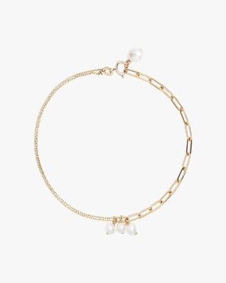 Poppy Finch Chain Pearl Bracelet