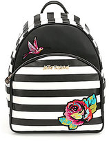 Betsey Johnson Belle Rose Striped Backpack