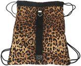 Dolce & Gabbana Animalier Printed Nylon Backpack
