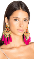 Mercedes Salazar Drop Tassel Earring