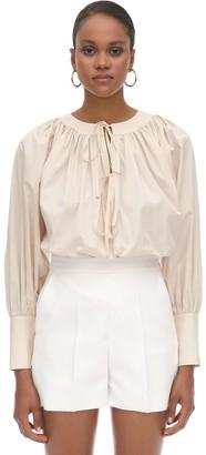 L'Autre Chose Cotton Poplin Shirt