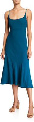 Astr Joan Scoop-Neck Sleeveless Midi Dress