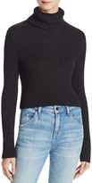 Alice + Olivia Sierra Cropped Turtleneck Sweater