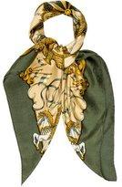 Hermes Luna Park Silk Jacquard Scarf