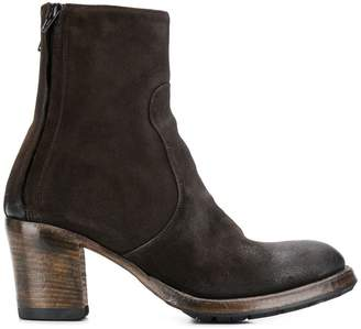 Silvano Sassetti vintage effect ankle boots