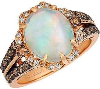 LeVian 14K Rose Gold 2.82 Ct. Tw. Diamond & Opal Ring