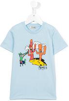 Kenzo cactus print T-shirt - kids - Cotton - 4 yrs