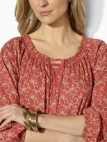 Lauren Ralph Lauren Ralph Floral Peasant Tunic