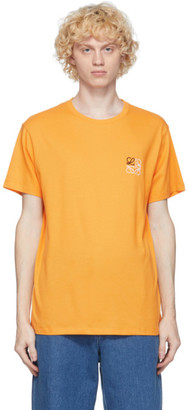 Loewe Orange Anagram T-Shirt