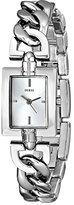 GUESS Women's U0437L1 Petite Silver-Tone Chain Watch