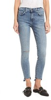 Current/Elliott Women's The Stiletto High Waist Ankle Skinny Jeans
