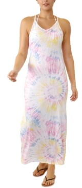Miken Juniors' V-Neck Maxi Cover-Up Dress, Created for Macy's Women's Swimsuit
