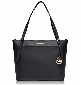 MICHAEL Michael Kors MICHAEL Voyager Large Saffiano Leather Top-Zip Tote Bag