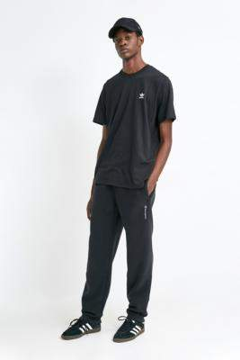 Champion UO Exclusive Black Polar Fleece Joggers - black S at Urban Outfitters