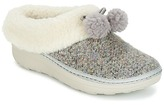 FitFlop LOAFF SNUG SLIPPERS - POM DUSTY / GREY