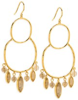 Gorjana Eliza Gem Chandelier Earrings