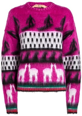 No.21 N21 Knit Surfer Sweater