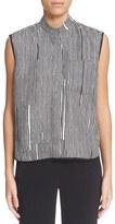 Carven Women's Stripe Silk Shirt