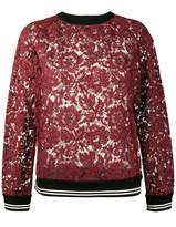 Valentino lace sweatshirt
