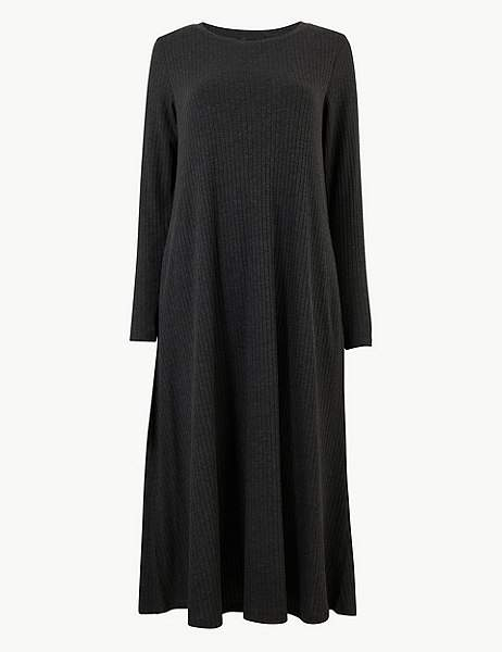 Marks and Spencer Jersey Swing Midi Dress