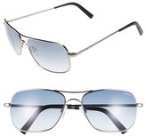 Randolph Engineering Men's 'Archer' 59Mm Sunglasses - Dark Ruthenium/ Blue Gradient