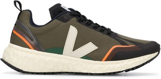 Veja Two-Tone Low-Top Sneakers