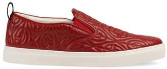 Gucci Rhombus Slip-On Sneaker