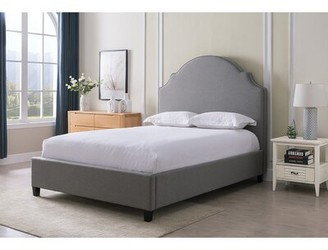 Darby Home Co Koret Upholstered Standard Bed Color: Gray, Size: King