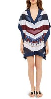 Ted Baker Rowing Stripe Tunic Swim Cover-Up