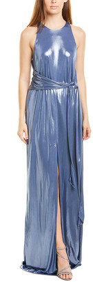 Halston Metallic Gown