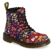 Dr. Martens Toddler Girl's Delaney Flower Print Boot