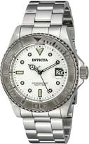 Invicta Men's Pro Diver Automatic Metallic Textured Dial Stainless Steel