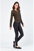 Select Fashion Fashion Lace Front Detail Jumper Knitwear - size 6