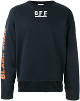 Moncler logo print sweatshirt - men - Cotton - S