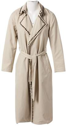 Ramosport Beige Synthetic Trench coats