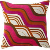 Jonathan Adler Milano Mod Tide Pillow, Orange/Pink