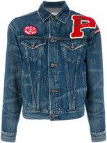 Polo Ralph Lauren Trucker blazer - women - Cotton/Lyocell - S