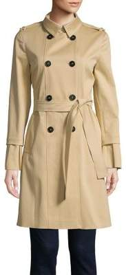 Marella Self-Tie Trench Coat