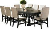 Branton Home Leona Dining 9-piece Set