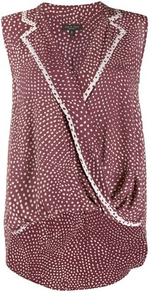 Rag & Bone All-Over Print Blouse