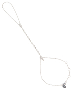 Meira T 14K White Gold & 0.50 Total Ct. Pave Diamond Arrow Hand Chain