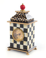 Mackenzie Childs MacKenzie-Childs Zig Zag Desk Clock