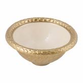 Julia Knight Florentine Gold Bowl