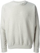 The Elder Statesman Cooked Cashmere Herring Crew Neck - unisex - Cashmere - S