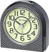 rhythm Alarm Clock Analogue Grey 70854 4